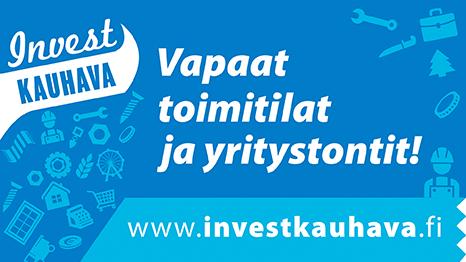 Invest Kauhava – Vapaat toimitilat ja yritystontit